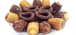 Churros de chocolate